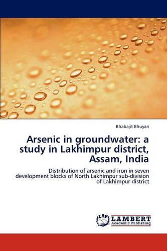Arsenic in Groundwater: A Study in Lakhimpur District, Assam, India (Paperback)