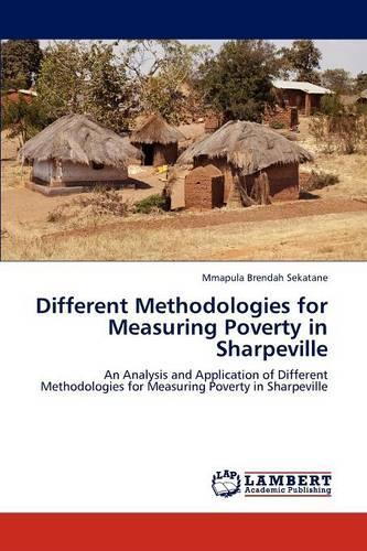 Different Methodologies for Measuring Poverty in Sharpeville (Paperback)