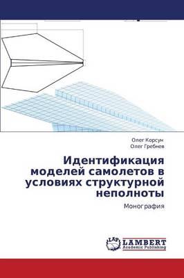 Identifikatsiya Modeley Samoletov V Usloviyakh Strukturnoy Nepolnoty (Paperback)