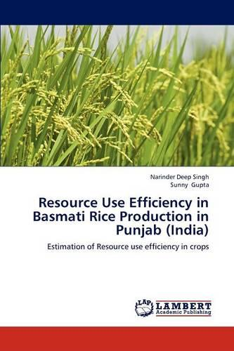Resource Use Efficiency in Basmati Rice Production in Punjab (India) (Paperback)