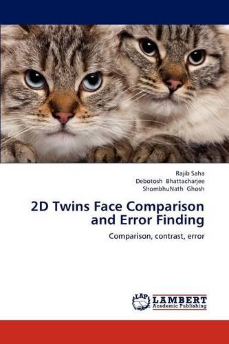 2D Twins Face Comparison and Error Finding (Paperback)