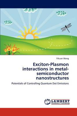 Exciton-Plasmon Interactions in Metal-Semiconductor Nanostructures (Paperback)