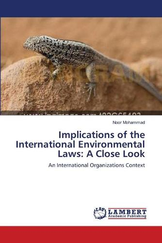 Implications of the International Environmental Laws: A Close Look (Paperback)