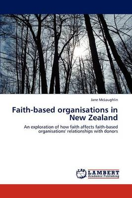 Faith-Based Organisations in New Zealand (Paperback)