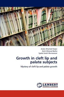 Growth in Cleft Lip and Palate Subjects (Paperback)