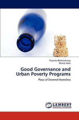 Good Governance and Urban Poverty Programs (Paperback)