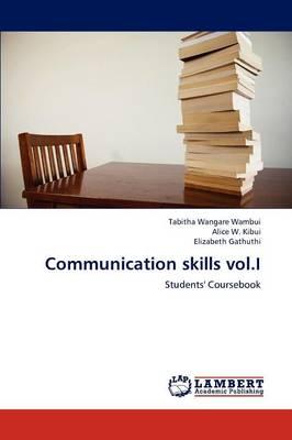 Communication Skills Vol.I (Paperback)
