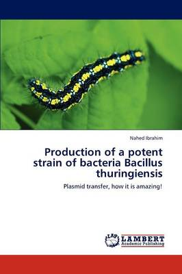 Production of a Potent Strain of Bacteria Bacillus Thuringiensis (Paperback)