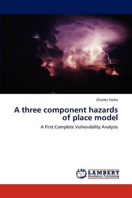 A Three Component Hazards of Place Model (Paperback)