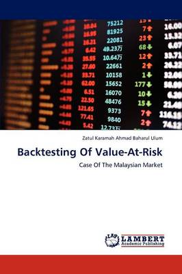Backtesting of Value-At-Risk (Paperback)
