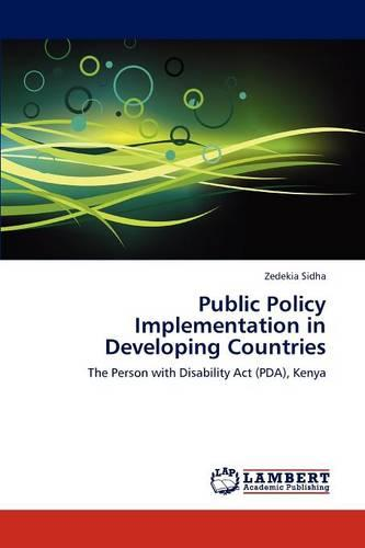 Public Policy Implementation in Developing Countries (Paperback)