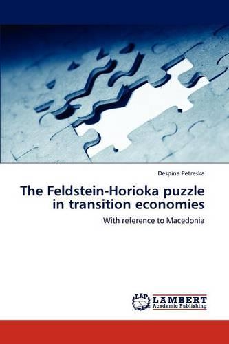The Feldstein-Horioka Puzzle in Transition Economies (Paperback)
