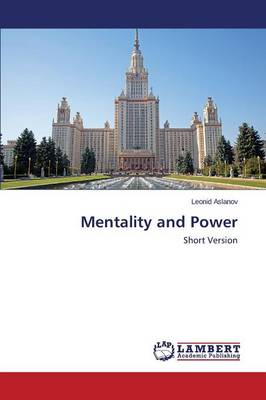 Mentality and Power (Paperback)
