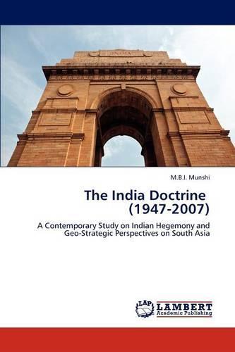 The India Doctrine (1947-2007) (Paperback)