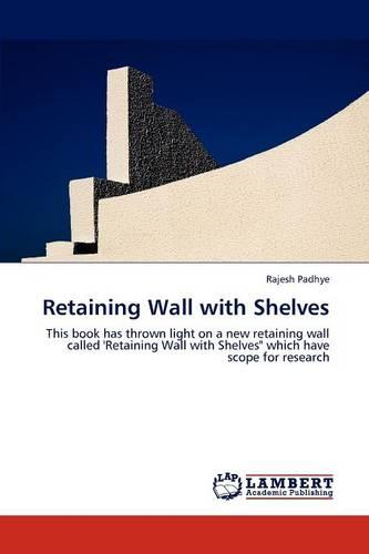 Retaining Wall with Shelves (Paperback)