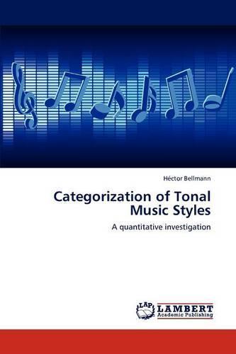 Categorization of Tonal Music Styles (Paperback)