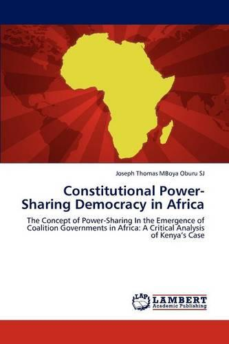 Constitutional Power-Sharing Democracy in Africa (Paperback)