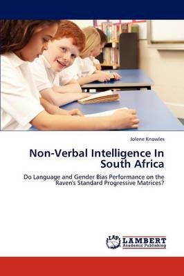 Non-Verbal Intelligence in South Africa (Paperback)