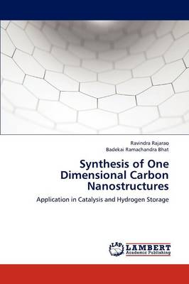 Synthesis of One Dimensional Carbon Nanostructures (Paperback)