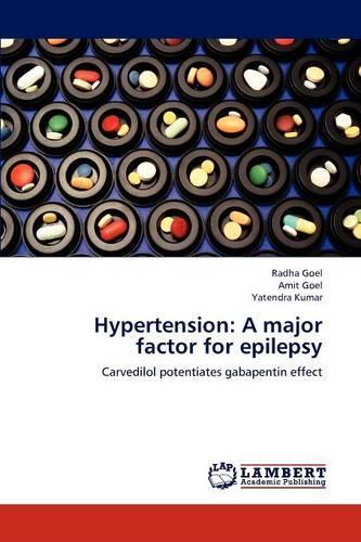 Hypertension: A Major Factor for Epilepsy (Paperback)
