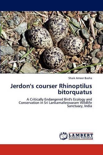 Jerdon's Courser Rhinoptilus Bitorquatus (Paperback)