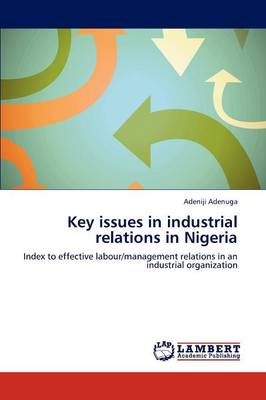 Key Issues in Industrial Relations in Nigeria (Paperback)
