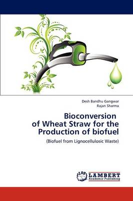 Bioconversion of Wheat Straw for the Production of Biofuel (Paperback)