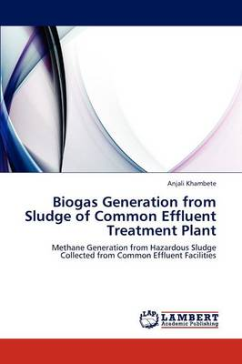 Biogas Generation from Sludge of Common Effluent Treatment Plant (Paperback)