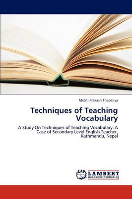 Techniques of Teaching Vocabulary (Paperback)