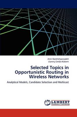 Selected Topics in Opportunistic Routing in Wireless Networks (Paperback)
