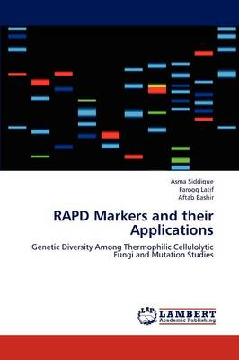 Rapd Markers and Their Applications (Paperback)