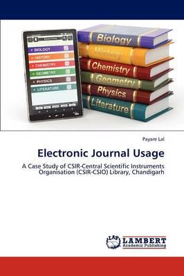 Electronic Journal Usage (Paperback)