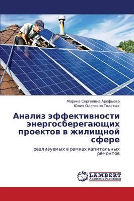 Analiz Effektivnosti Energosberegayushchikh Proektov V Zhilishchnoy Sfere (Paperback)