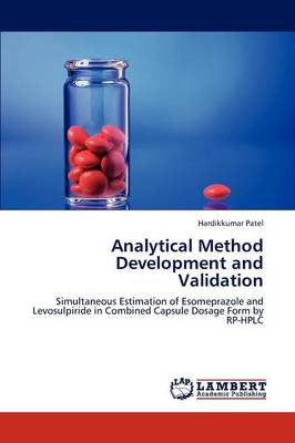 Analytical Method Development and Validation (Paperback)