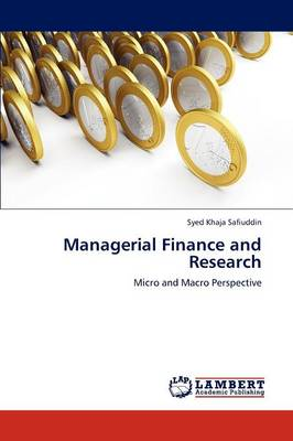 Managerial Finance and Research (Paperback)