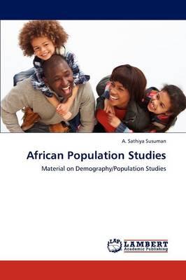 African Population Studies (Paperback)