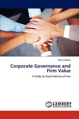 Corporate Governance and Firm Value (Paperback)