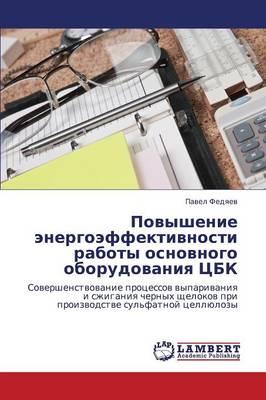 Povyshenie Energoeffektivnosti Raboty Osnovnogo Oborudovaniya Tsbk (Paperback)