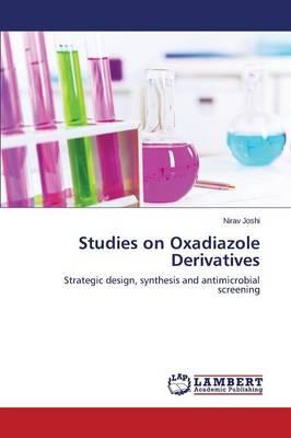 Studies on Oxadiazole Derivatives (Paperback)