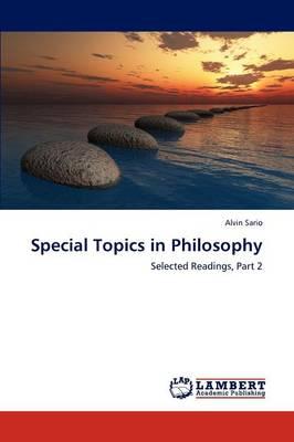 Special Topics in Philosophy (Paperback)