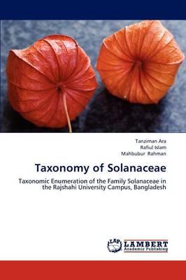 Taxonomy of Solanaceae (Paperback)