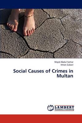 Social Causes of Crimes in Multan (Paperback)