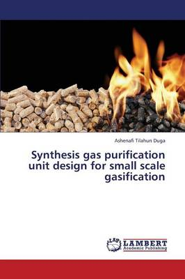 Synthesis Gas Purification Unit Design for Small Scale Gasification (Paperback)