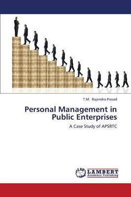 Personal Management in Public Enterprises (Paperback)