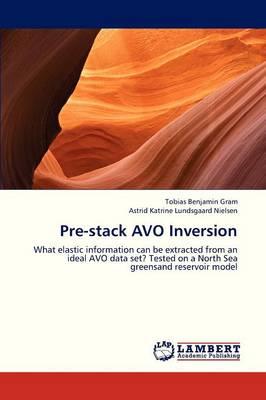 Pre-Stack Avo Inversion (Paperback)
