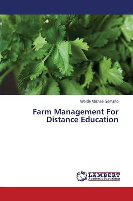 Farm Management for Distance Education (Paperback)