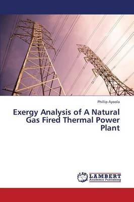 Exergy Analysis of a Natural Gas Fired Thermal Power Plant (Paperback)