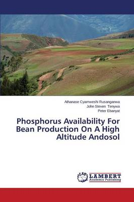 Phosphorus Availability for Bean Production on a High Altitude Andosol (Paperback)