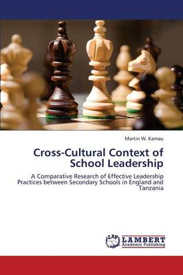 Cross-Cultural Context of School Leadership (Paperback)