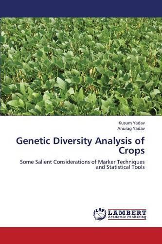 Genetic Diversity Analysis of Crops (Paperback)
